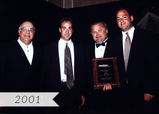 2001 Unipro Distributor of the Year